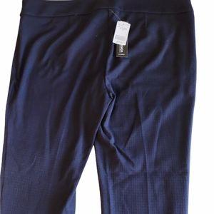 2/$25 NWT Le Chateau Blue Straight Pants Size 18